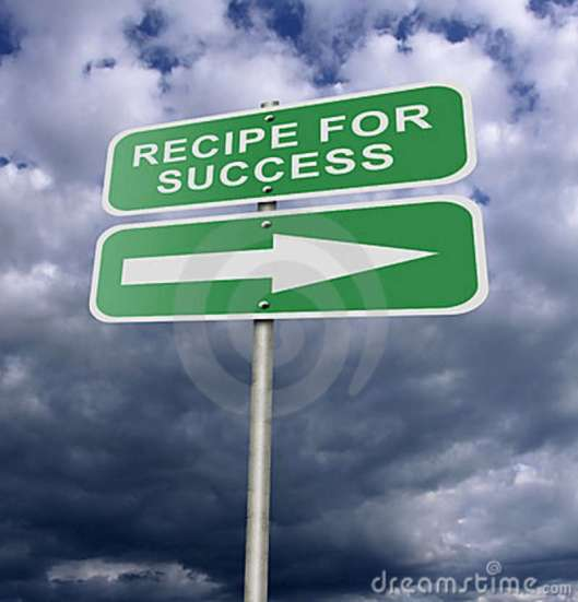 street-road-sign-recipe-success-22708622